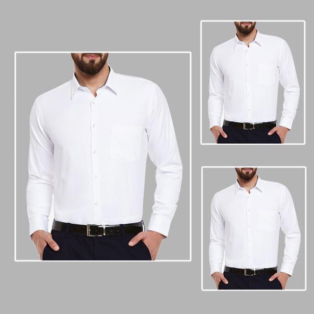 3 White Shirts