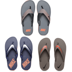 Pack of 3 Nike Flip Flops
