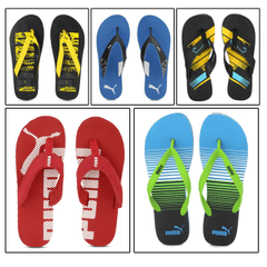 Seal the Deal Offer - 5 Puma Unisex Flip Flops
