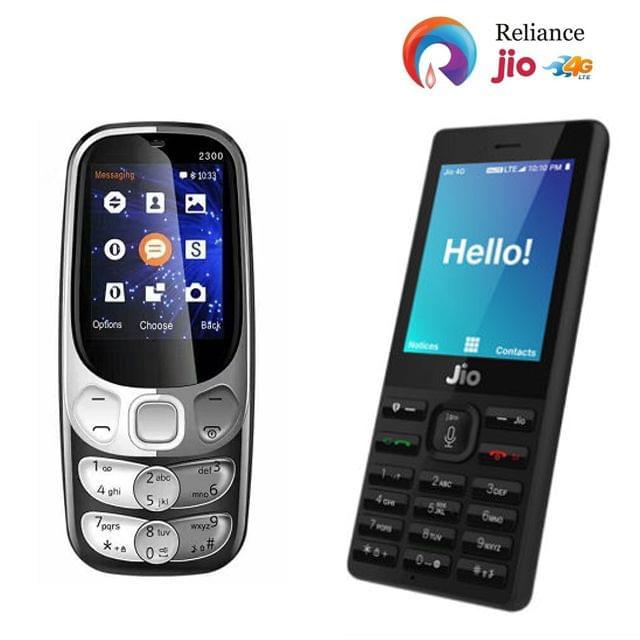 Jio Phone + Corn 2300 Mobile