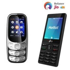 Jio Phone + Corn 2300 Mobile