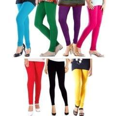 Pack of 7 Leggings for Women