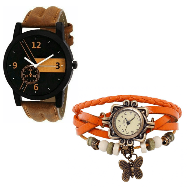 Set of 2 His & Her Watches