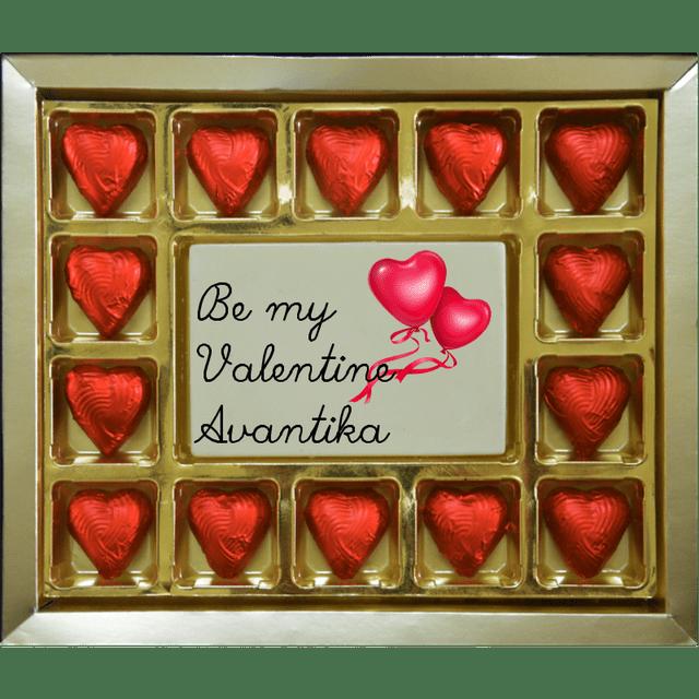 Valentine Gift - Customized Be my Valentine Large