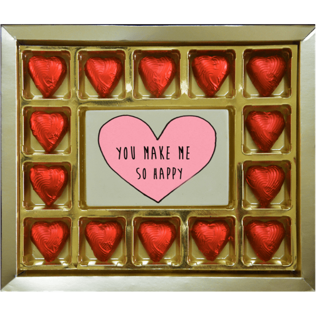 Valentine Gift - You make me so happy Large