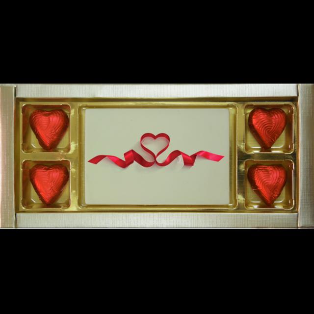Valentine Gift - Ribbon Heart