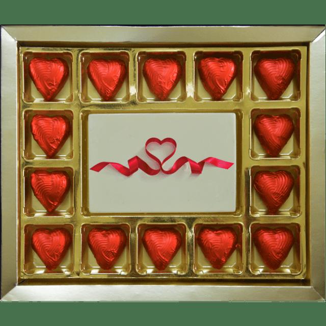 Valentine Gift - Ribbon Heart Large