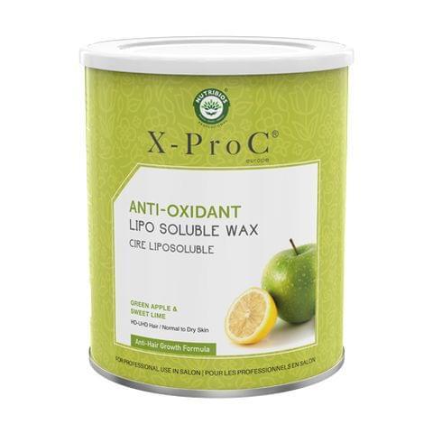 X-Pro C Anti-Oxidant Liposoluble Wax with Green Apple & Sweet Lime - 800g