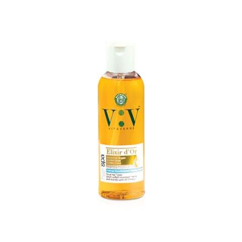 Vita Verde Intense Nourishment Elixir D'Or Hair Serum with Moroccan Argan Oil, Golden Corn & Golden Beet  - 100 ml