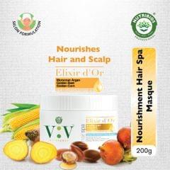 Vita Verde Elixir D'Or Creme hair masque (Intense Nourishment) - 200 g