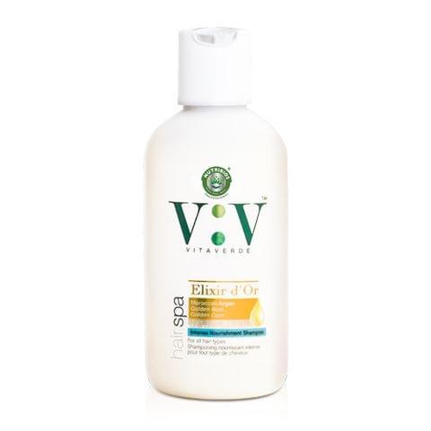 Vita Verde Intense Nourishment Shampoo with Moroccan Argan, Golden Beet & Golden Corn 200 ml