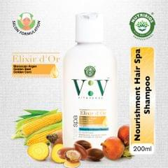 Vita Verde Intense Nourishment Shampoo with Moroccan Argan, Golden Beet & Golden Corn 200 ml