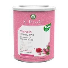X-Pro C Stripless (Brazilian) Hygiene Wax with Tulip and Camellia Oil - 800 gm