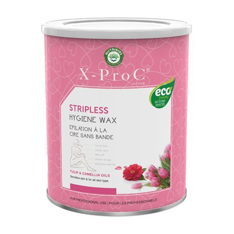 X-Pro C Stripless (Brazilian) Hygiene Wax with Tulip and Camellia Oil - 800 gm