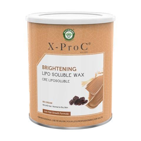 X-Pro C Brightening Liposoluble Wax with BB Cream and dark chocolate - 800g