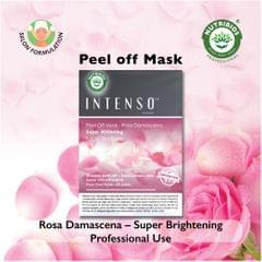 Intenso Peel Off Mask (Super brightening) powered with Hybrid Rosa Damascena