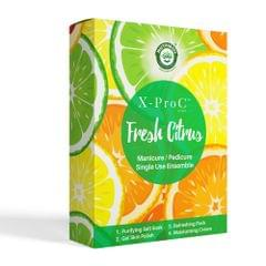 X-Pro C Fresh Citrus Manicure / Pedicure Single Use Kit
