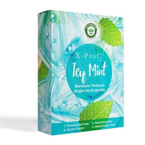 X-Pro C Icy Mint Manicure / Pedicure Single Use Kit