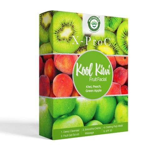 X-Pro C Kool Kiwi Fruit Facial (Single Use Kit)