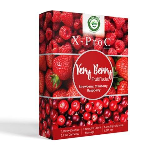 X-Pro C Very Berry Fruit Facial (Single Use Kit)