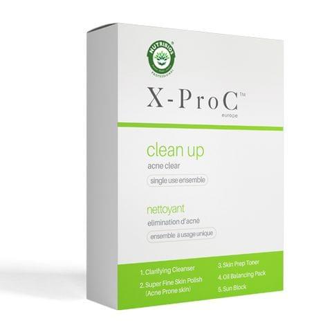 X-Pro C Clean Up - Acne Prone Skin (Single Use Kit)