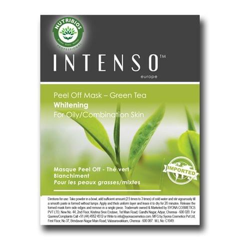 Intenso  Peel Off Mask (for acne prone, oily, sensitive skin) powered with Green Tea Tree