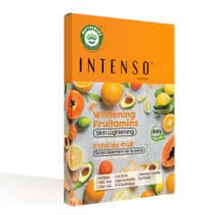 Intenso Whitening Fruitamins - Skin Lightening Facial (Single Use Kit)