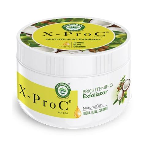 X-Pro C Brightening Exfoliator (Face Scrub) with Jojoba, Olive & Coconut - 200 g