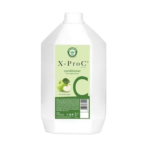 X-Pro C Backwash Conditioner with Green Apple Extracts for all Hair Types - 4 Litres