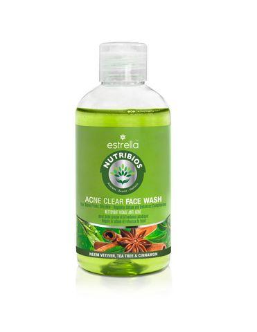 Nutribios Professional Natural Anti-Acne, Neem  Face Wash 200ml