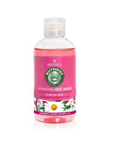 Nutribios Professional Natural Hydrating Face Wash for Refreshing Clear Skin with Chamomile, Jasmine & White Lily for Normal to Dry Skin (FLORAL) Face Wash (200 ml)