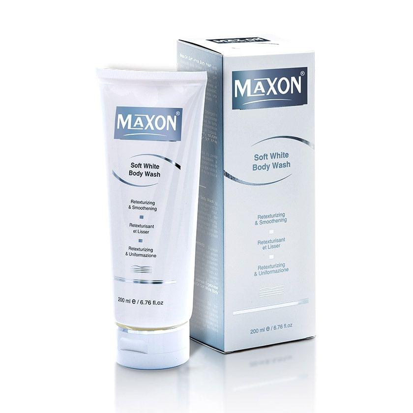 MAXON Soft White Body Wash ( 200 ml )