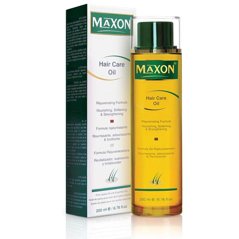 MAXON Hair Care Oil for hair loss, broken hair, itching, dandruff and dryness of scalp