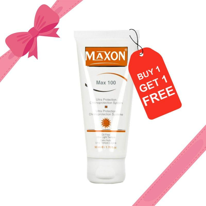 MAX 100 (Buy 1 get 1 Free ) Offer