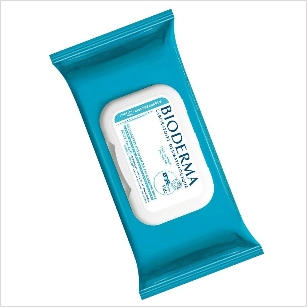 BIODERMA ABC DERM H20 LINGETTEN/WIPES
