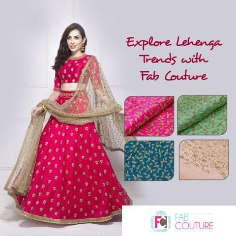 Lehenga Trends for Summer Weddings with Fab Couture
