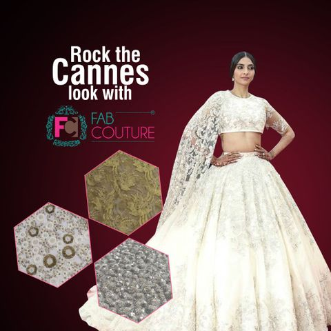 Rock the Cannes 2018 look with Fab Couture