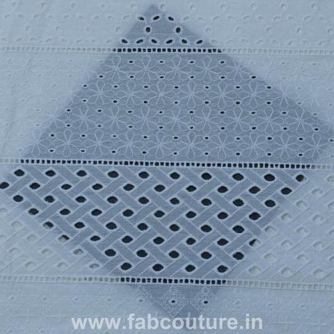 Cotton Chikan With Border