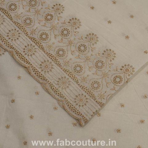 Cotton Border Embroidery