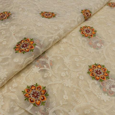 Kota Checks Thread Embroidery
