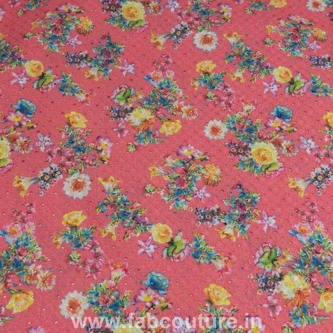 Cotton Chikan print