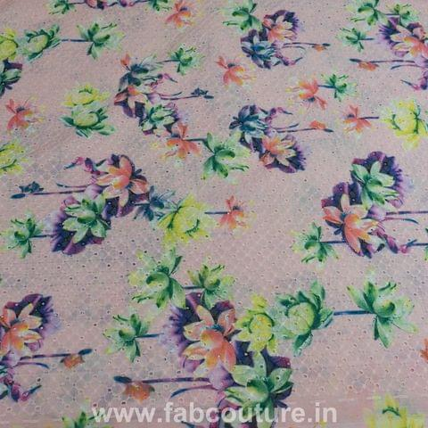 Cotton Chikan print