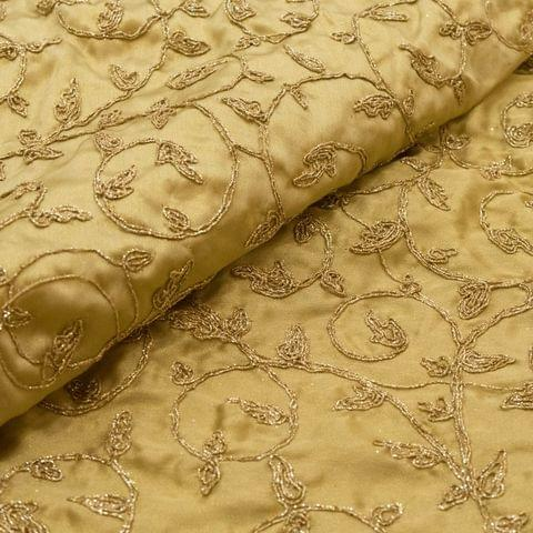 Satin Embroidery Fabric