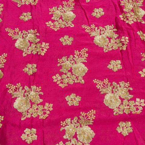 Chinon Chiffon Sequins Embroidery