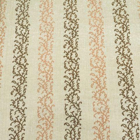 Lurex Linen Print