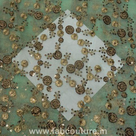Organza Sequins Embroidery