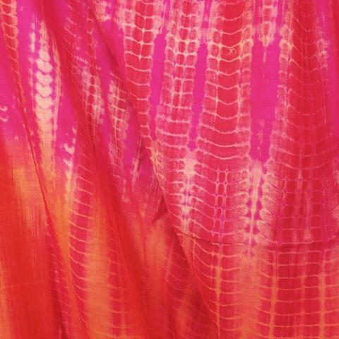 Chanderi Tie & Dye