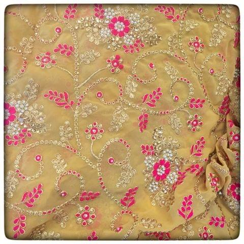 Embroidered Georgette