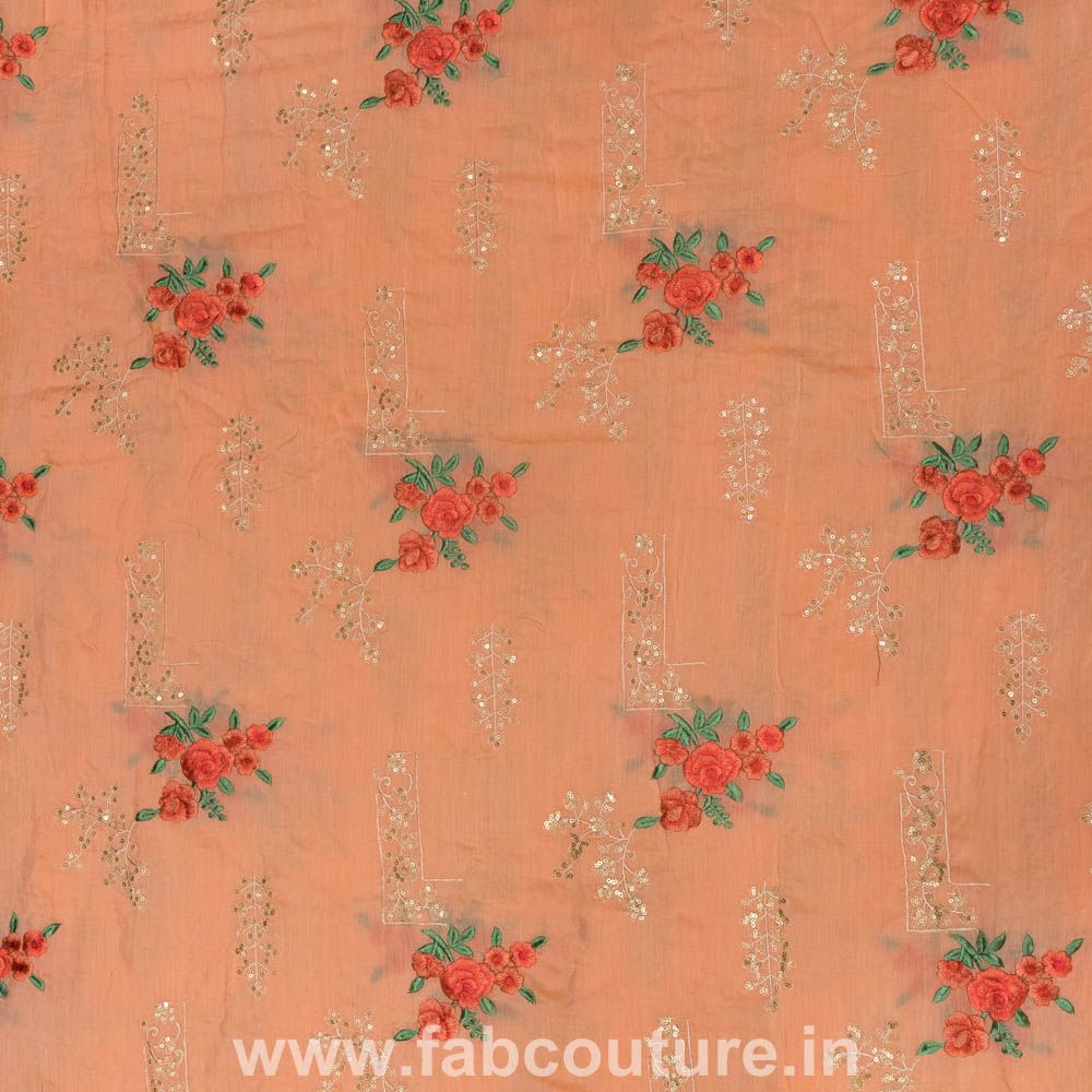 Muslin Thread Embroidery