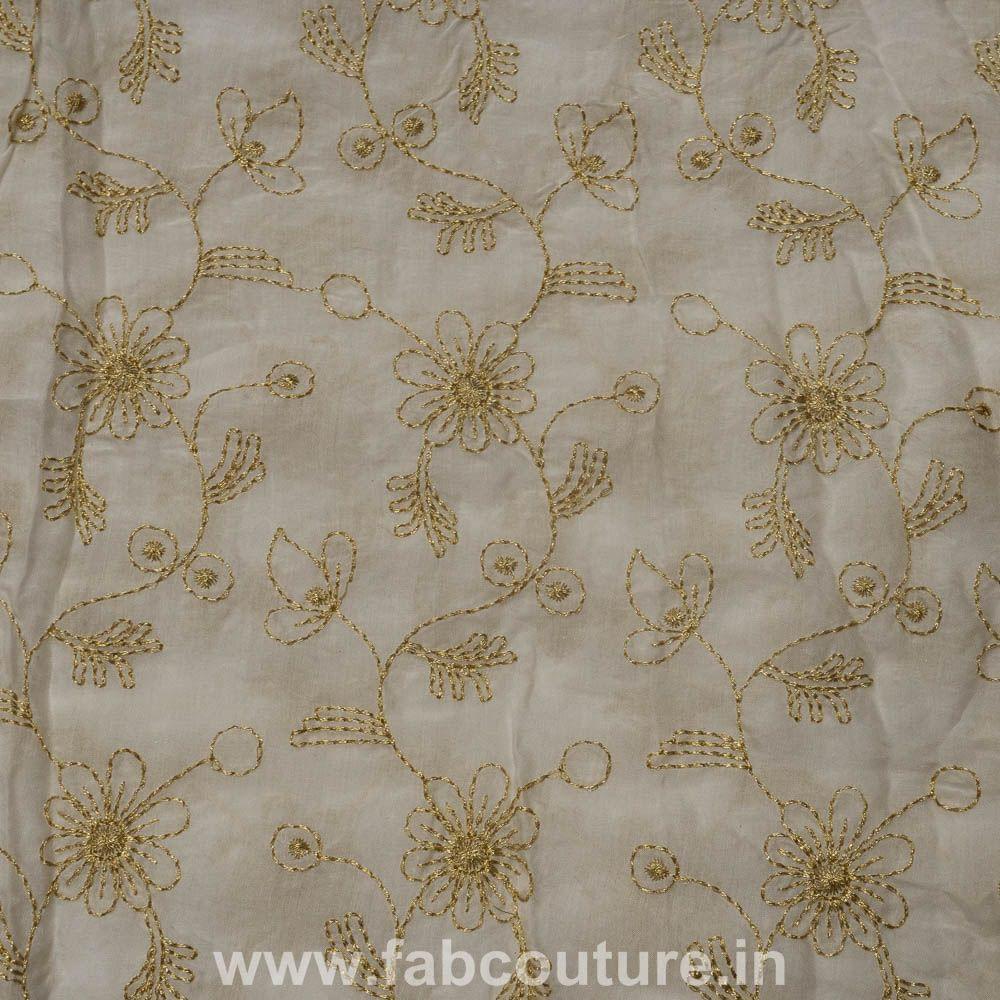 Muslin Cotton Thread Embroidery
